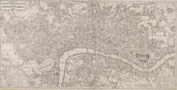 A plan of London and Westminster with the borough of Southwark. 1823